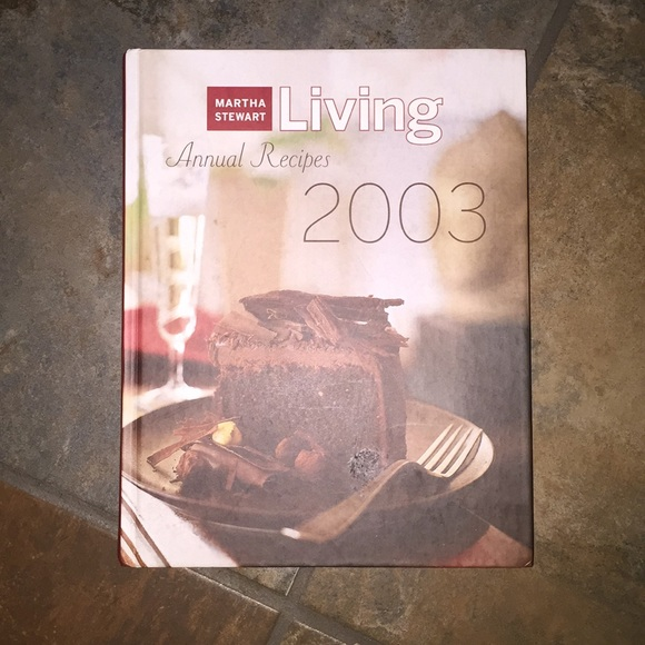 NWOT! Martha Stewart Living 2003 Annual Recipes